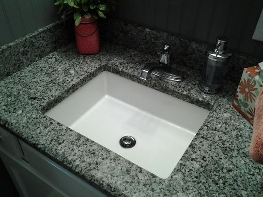 KOHLER Verticyl Vitreous China Undermount Bathroom Sink In White With  Overflow Drain K 2882 0 At The Home Depot   Mobile