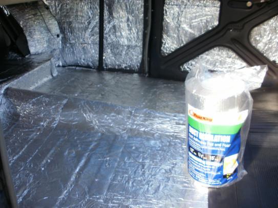 E/O 12 in  x 15 ft  Self-Stick Foam/Foil Duct Insulation