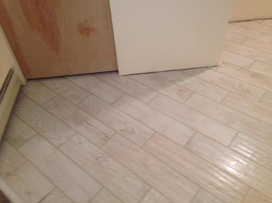 Famous MARAZZI Montagna White Wash 6 in. x 24 in. Glazed Porcelain Floor  KQ47