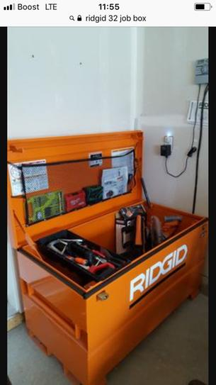 RIDGID 32 in. x 19 in. Portable Storage Chest 32R-OS at ...