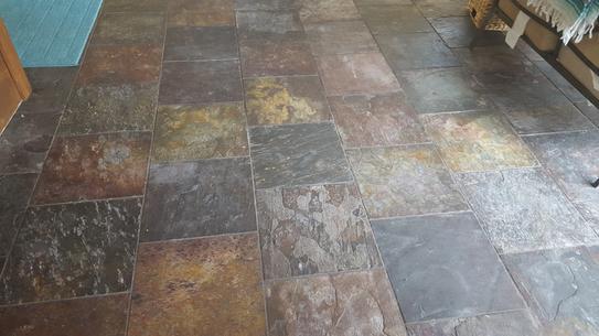 Msi Peacock 12 In X 24 In Gauged Slate Floor And Wall Tile 10 Sq