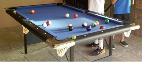 Hathaway Fairmont Ft Portable Pool Table BG At The Home Depot - Mobile pool table