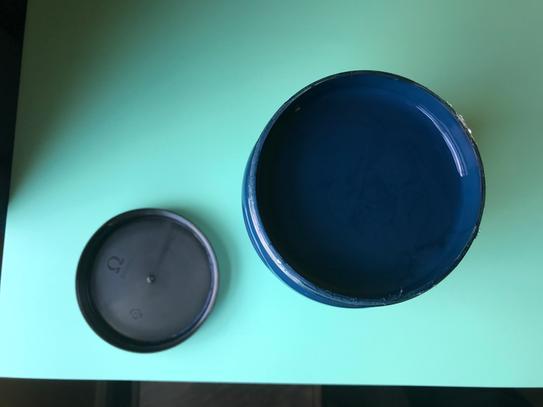paint with screw cap lid