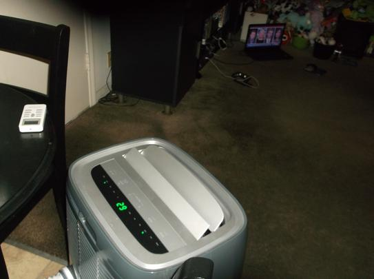 Frigidaire 14,000 BTU 3-Speed Portable Air Conditioner with Heat