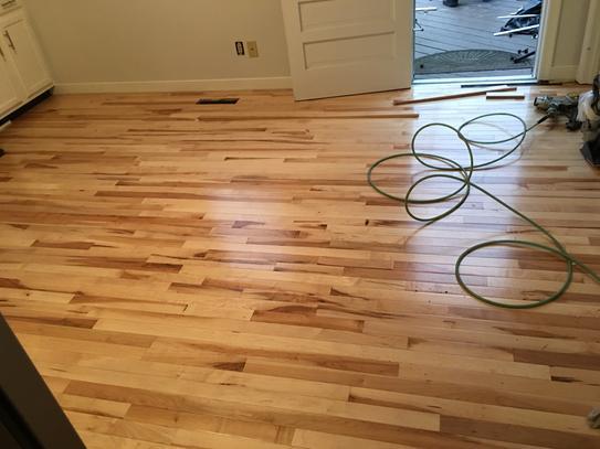 Here's the new kitchen floor.