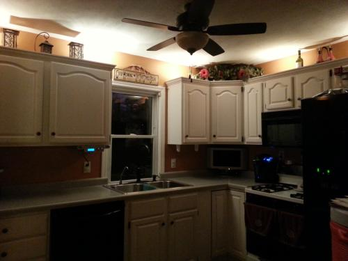 Charmant Hampton Bay 6 Light Xenon Black Under Cabinet Puck Light Kit EC1333BK At  The Home Depot   Mobile