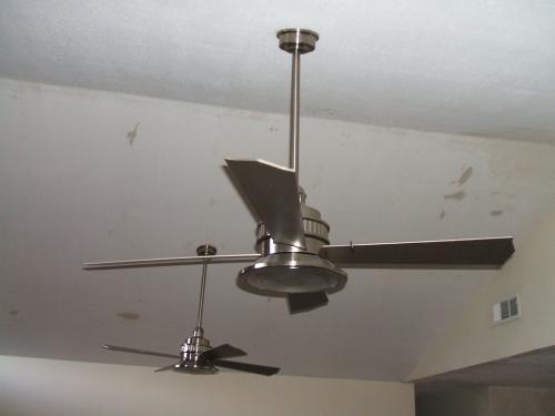 Hampton Bay Valle Paraiso 52 In Indoor Brushed Nickel
