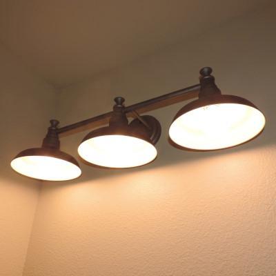 Design House Kimball 3-Light Galvanized Steel Indoor Vanity Light ...