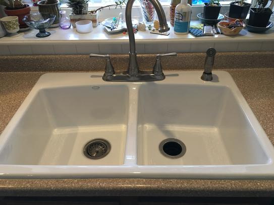 Kohler Brookfield Kitchen Sink - Image Sink and Toaster ...
