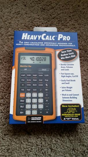Calculated Industries HeavyCalc Pro Calculator 4325 at The