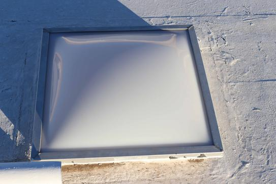 Gordon Skylight Replacement Dome For Gordon Curb Mounted Skylights 2828wordcm The Home Depot