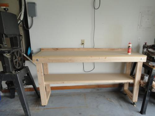 Signature Development 72 in FoldOut Wood Workbench WKBNCH72X22 at