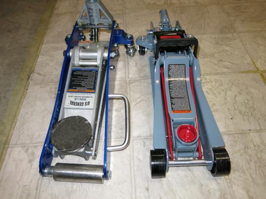 Pro-Lift 2 Ton Low Profile Floor Jack F-767 at The Home Depot - Mobile