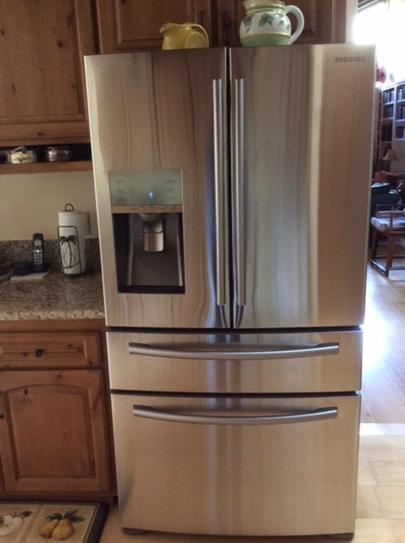 4 Door French Door Refrigerator In Stainless Steel, Counter Depth  RF24FSEDBSR At The Home Depot   Mobile