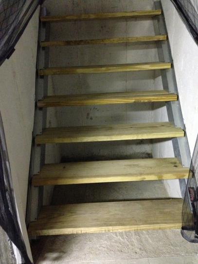 Customer Images (3). Replacement Basement Stairs