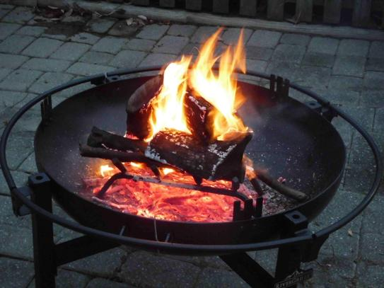 Rivergrille Cowboy 31 In Charcoal Grill And Fire Pit