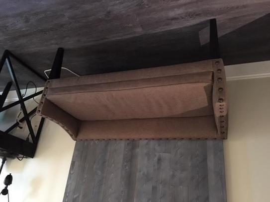 Leffler Home Whitney Upholstered Bench In Lisburn Rattan 13000 02 04 01 The Home Depot