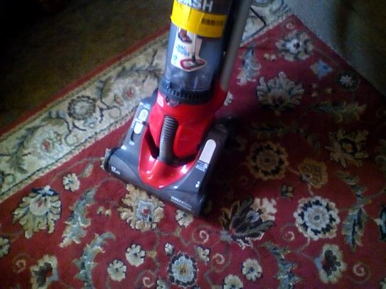 Dirt Devil Dash Bagless Upright Vacuum Cleaner With Vac Dust Floor Tool Ud70250b At The Home Depot Mobile