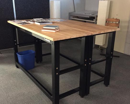 Husky 6 Ft Solid Wood Top Workbench G7200s Us At The Home