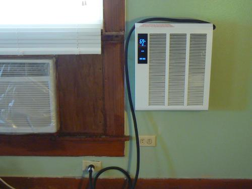 x 15-3//4 in Fahrenheat Smart Series 19 in 4000-Watt High Output Wall Heater