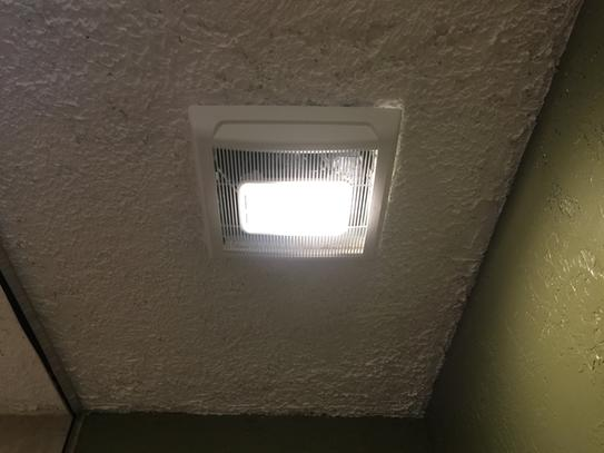 NuTone InVent Series 80 CFM Ceiling Bathroom Exhaust Fan with Light AN80L    The Home Depot. NuTone InVent Series 80 CFM Ceiling Bathroom Exhaust Fan with