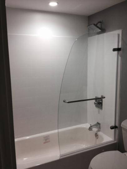 Genial DreamLine Aqua Uno 34 In. X 58 In. Frameless Pivot Tub Door In Brushed  Nickel SHDR 3534586 04 At The Home Depot   Mobile