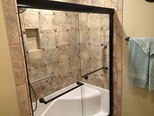 Aquatic Coronado 60 in. x 30 in. Single Threshold Left Drain Shower ...