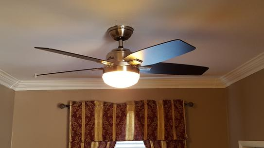 Customer images 12 great fan light