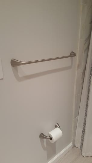 Kohler Alteo 24 In Towel Bar In Polished Chrome K 37051 Cp At The Home Depot Mobile