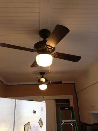 Hampton Bay Courtney 42 In  Indoor Oil Rubbed Bronze Ceiling Fan With Light Kit 61876 At The