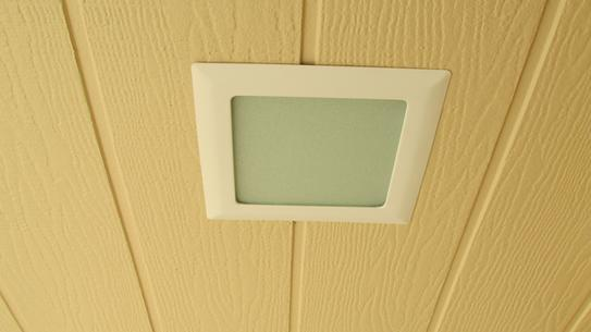 Recessed Ceiling Light Square Trim