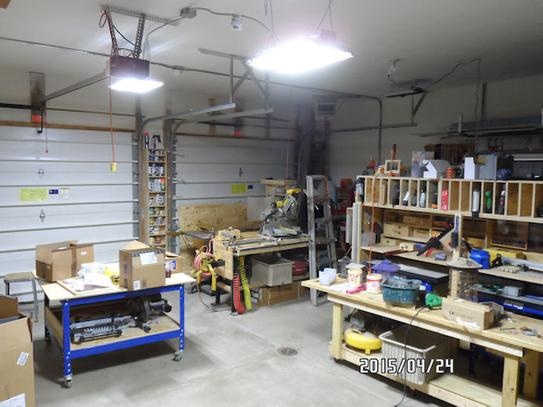 Lithonia Lighting Ibh 11l Mv 2 Ft White Led High Bay Light At The Home Depot Mobile