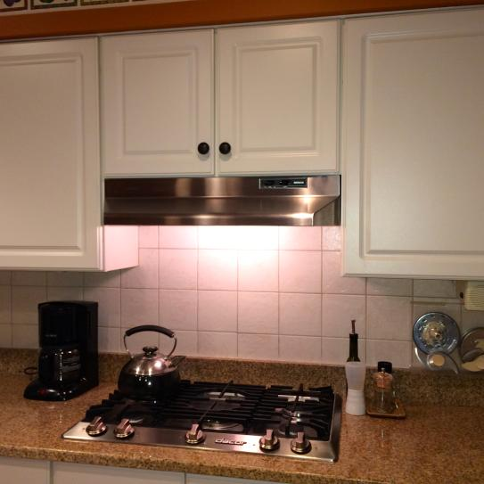 Under Cabinet Range Hood With Light In Stainless Steel 403004 At The Home  Depot   Mobile