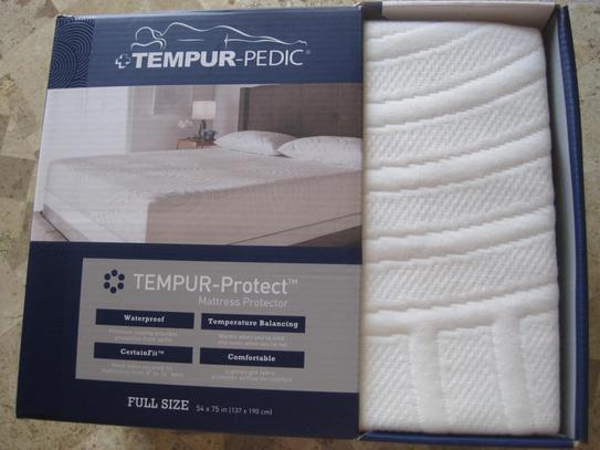 Tempur Pedic Cotton Queen Mattress Protector 45713150 At The Home