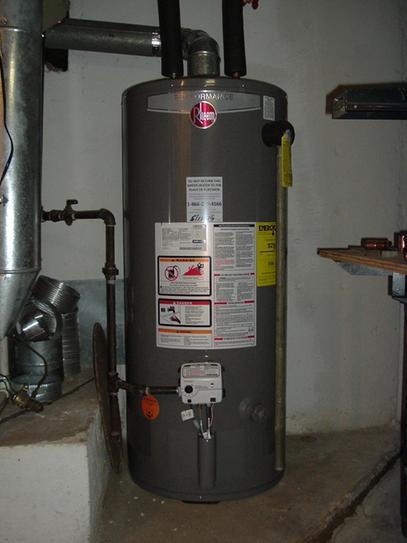 Rheem Performance 40 Gal Short 6 Year 34000 BTU Natural Gas Tank
