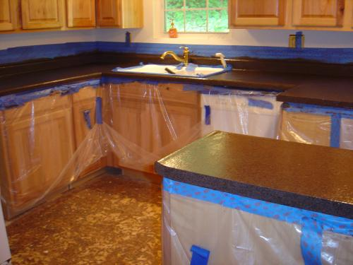 Rust Oleum Transformations Large Java Stone Countertop Kit Covers 50 Sq Ft Discontinued 205168 At The Home Depot Mobile