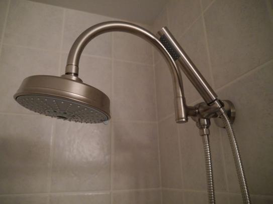 Delta 3 Way Shower Arm Diverter With Hand Shower Mount In Stainless  U4920 SS PK At The Home Depot   Mobile