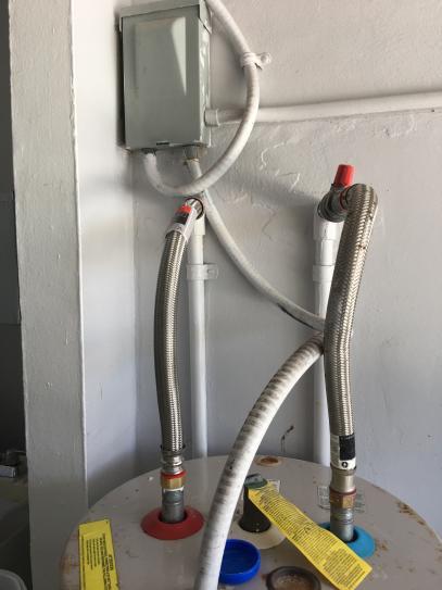 Water heater job