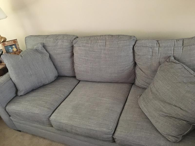 Back Cushions Almost Immediately Lost Their Shape. Seat Cushions Compressed  Very Quickly As Well.