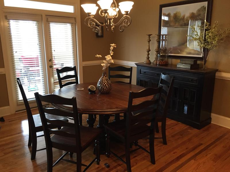 Logan Circle Round Dining Table