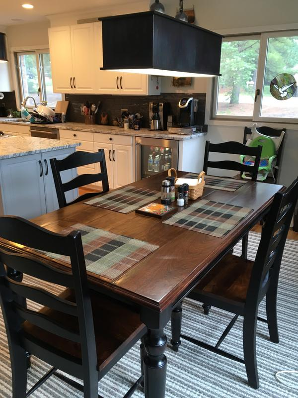 Wonderful My New Table And Chairs In My New Kitchen!