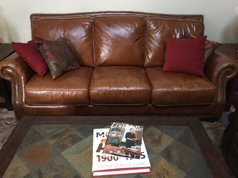 Cagney Leather Sofa Extraordinary Living Room Tips From