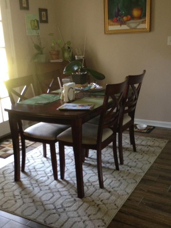 My Gorgeous New Dining Room Set