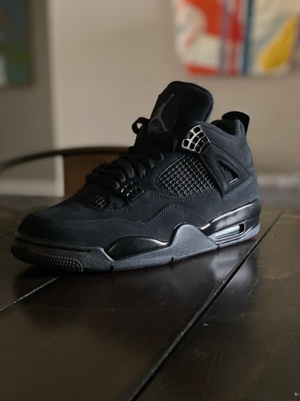 Jordan 4 Retro Black Cat Men S Shoe Hibbett City Gear
