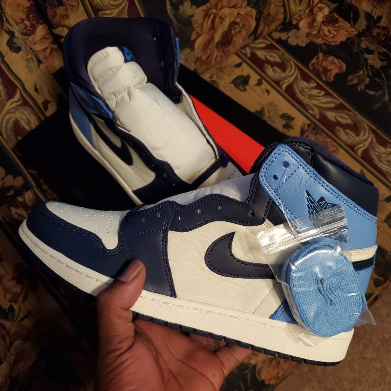 air jordan 1 obsidian youth 45