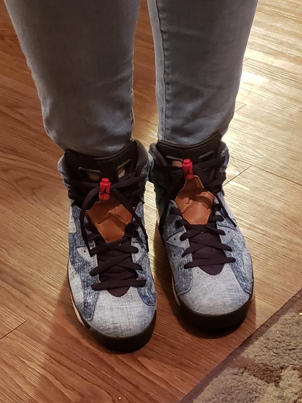 Jordan 6 Retro Washed Denim Men S Shoe Hibbett City Gear