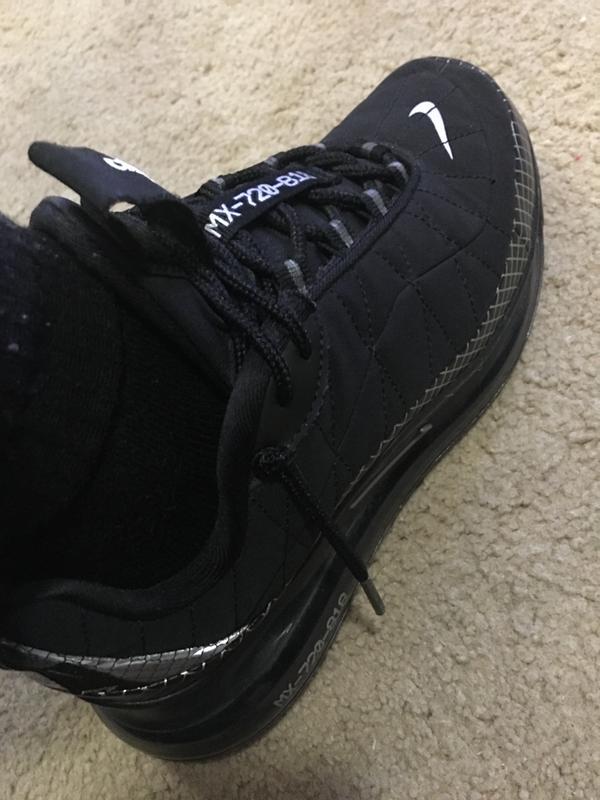Nike Mx 720 818 Black Grey Grade School Boys Shoe Hibbett