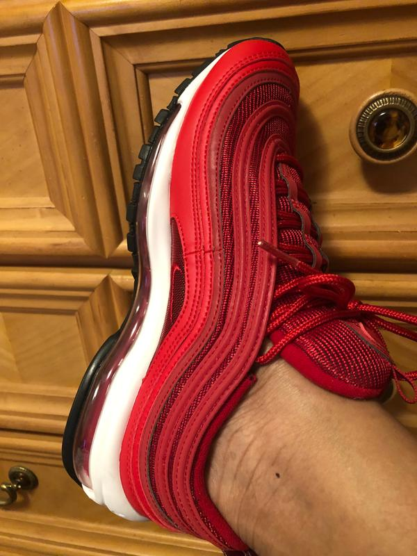 Nike Air Max 97 Red White Women S Shoe Hibbett City Gear