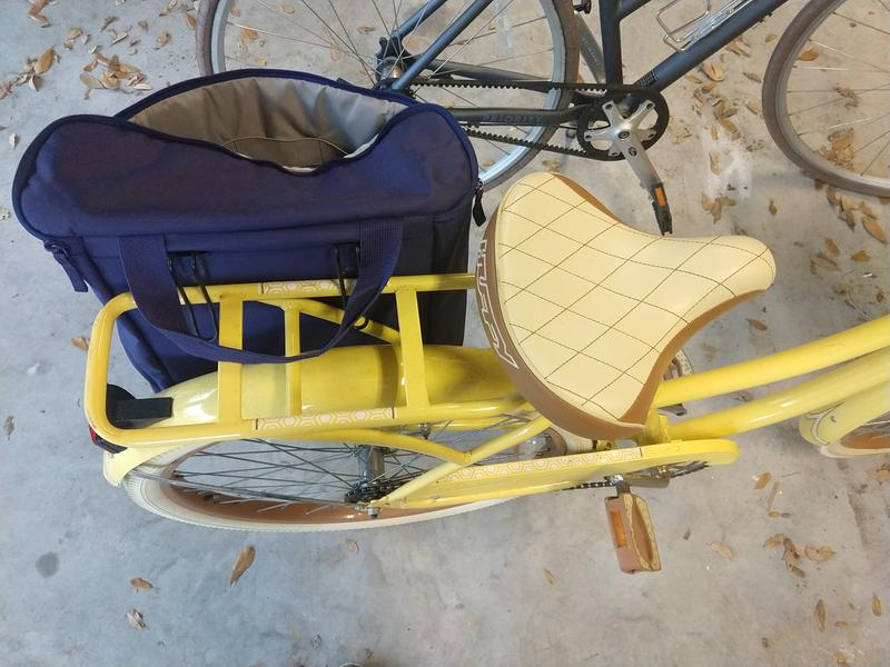 """Nel Lusso Classic Cruiser Bike with Perfect Fit Frame Huffy Women/'s Yellow 26/"""""""