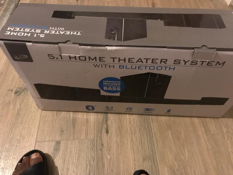 Ilive Ihtb138b 5 1 Home Theater System With Bluetooth